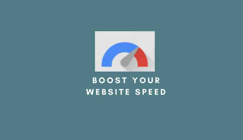 boost your website speed