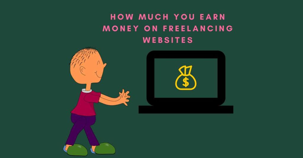 money on freelancing sites